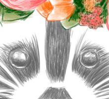 Lovely raccoon Sticker