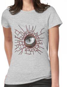 DARK EYE Womens Fitted T-Shirt