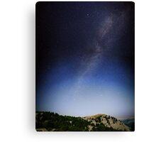 Hourglass sky Canvas Print