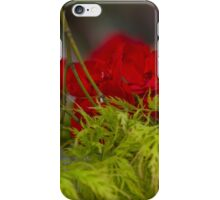 flower and maple iPhone Case/Skin