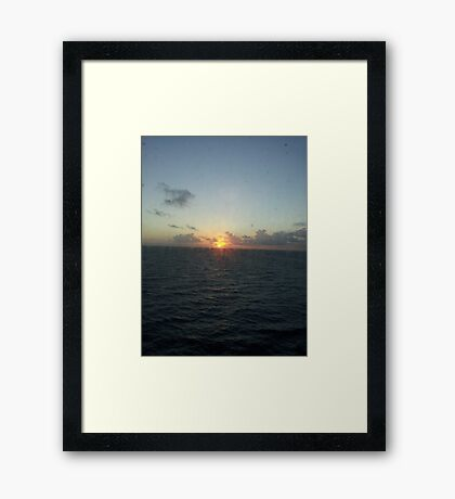 carribean Framed Print