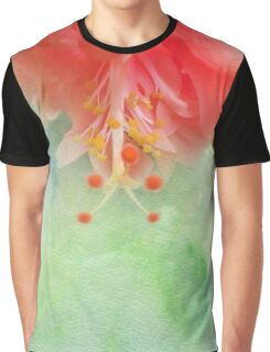 Softly Colored Graphic T-Shirt