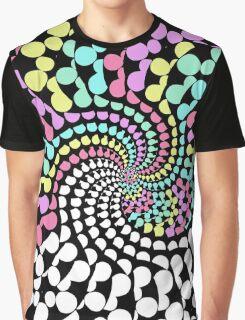 Lazy Pastel Fractals Graphic T-Shirt