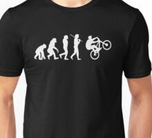 Evolution To Biking Bicycle Biker Cycling,Funny Gift For Biking Lover Unisex T-Shirt