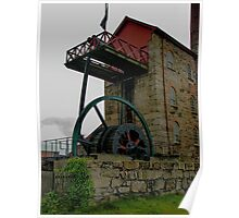 East Pool engine house, Camborne, Cornwall Poster
