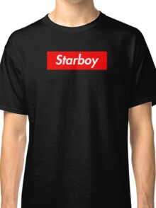 The Weeknd - Starboy Supreme logo Classic T-Shirt