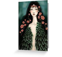 Swanmaiden Greeting Card