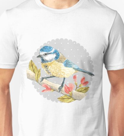 Blue Tit Unisex T-Shirt