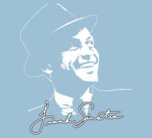 Frank Sinatra - Portrait and signature One Piece - Short Sleeve