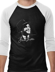 Frank Sinatra - Portrait and signature Men's Baseball ¾ T-Shirt