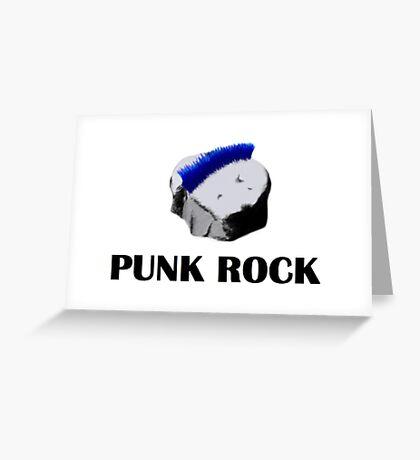 Punk Rock Greeting Card