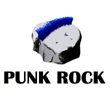 Punk Rock Photographic Print