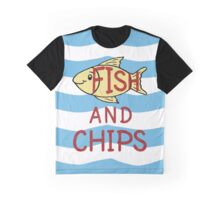 Fish and Chips Graphic T-Shirt