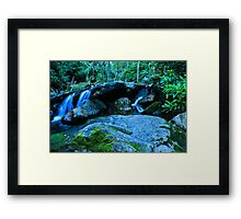 Little Waterfall Framed Print