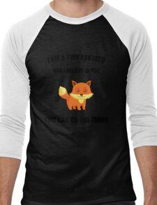 you can do the thing  Men's Baseball ¾ T-Shirt