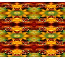 the splash pattern  Photographic Print