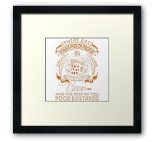 There Are Two Kinds Of People Those Who Enjoy Beer Framed Print