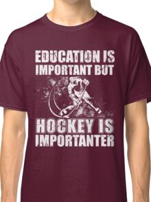 Hockey Shirts-Gifts Funny,For Women,Men,Mom,Dad Hockey Lover Classic T-Shirt