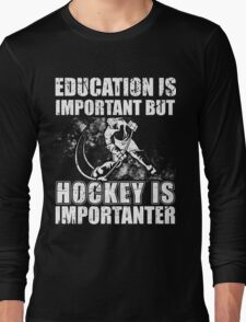 Hockey Shirts-Gifts Funny,For Women,Men,Mom,Dad Hockey Lover Long Sleeve T-Shirt