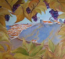 Between the vineyard  by ISABEL ALFARROBINHA