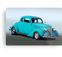 1936 Ford Coupe 3Q Pass Side Metal Print