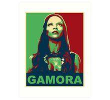Gamora Hope Art Print