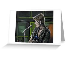 """DAVID BOWIE - Live 1972 BBC  """"Queen Bitch"""" Greeting Card"""