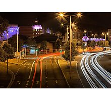 Oystermouth road Swansea Photographic Print