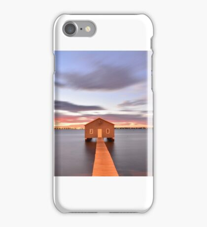 Crawley Boat shed 02 iPhone Case/Skin