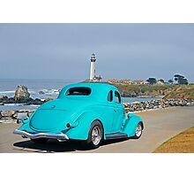 1936 Ford Coupe 'Shoreline' I Photographic Print