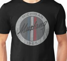 Ford Mustang 1965 vintage grunge style Unisex T-Shirt