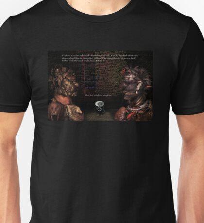 Cog dreads social events Unisex T-Shirt