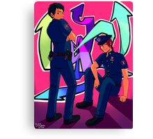 Future Cops Canvas Print