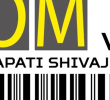 Destination Mumbai Airport Sticker