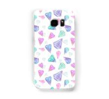 Geometric Pastel Pinks / Purple Diamonds Samsung Galaxy Case/Skin