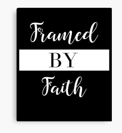 Framed By Faith Canvas Print