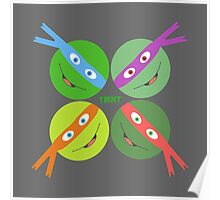 TMNT Heads Up! Poster