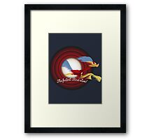 The Fastest Bird Alive! Framed Print