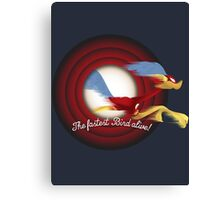 The Fastest Bird Alive! Canvas Print