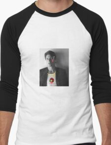 Rob Lowe the gangster zombie  Men's Baseball ¾ T-Shirt