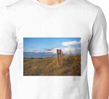 Prairie Fence Briggsdale Colorado Unisex T-Shirt