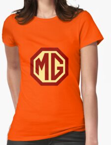 Classic Cars Logo - MG Womens Fitted T-Shirt