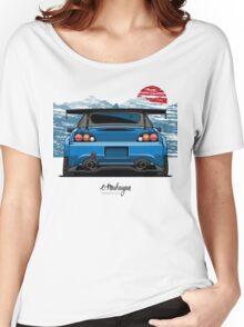 Honda S2000 (blue) Women's Relaxed Fit T-Shirt
