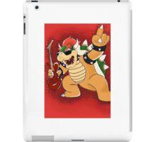 Metal Bowser iPad Case/Skin