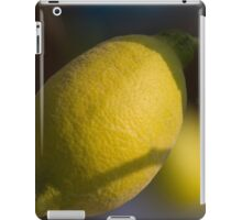 lemon in spring iPad Case/Skin