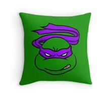 TMNT - Donatello Throw Pillow