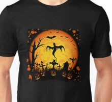 SCARY HALLOWEEN NIGHT Unisex T-Shirt