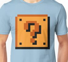 Mario Question Mark Unisex T-Shirt