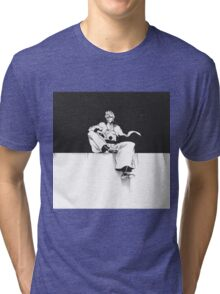 Grimmjow Black & White  Tri-blend T-Shirt