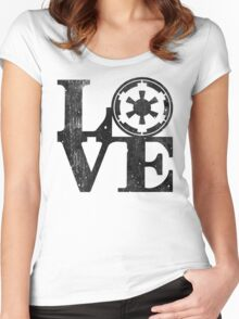 Love Empire Women's Fitted Scoop T-Shirt